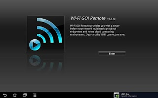 Screenshot of Wi-Fi GO! Remote
