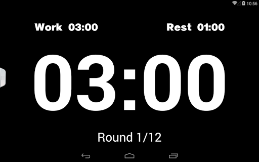Boxing Interval Timer PRO - screenshot