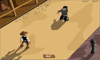 Screenshot of Cowboy Shooter - Gun Blood