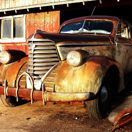 Weathered by Jason Woodrow - Transportation Automobiles ( car, old, classic, weathered )