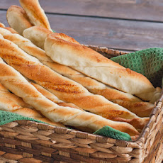 Twisted Parmesan Breadsticks