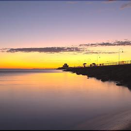 St.Kilda's Pier,Melbourne at Sunset by Gopi Krishna - Landscapes Travel