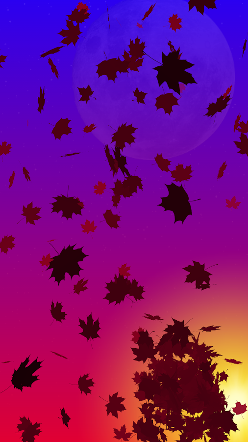 Autumn Leaves Live Wallpaper Screenshot 4