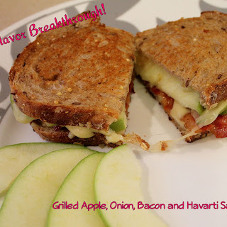 Grilled Apple, Onion, Bacon and Havarti Sandwiches ~ Revisited!