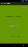 Screenshot of Euro-Dollar