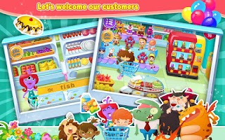 Screenshot of Candy's Supermarket