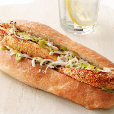 Fish Sandwiches With Jalapeno Slaw