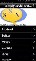 Screenshot of Simply Social Networking
