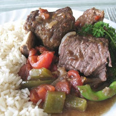 Jamaican Short Ribs  (Crock Pot)