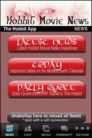 The Hobbit App