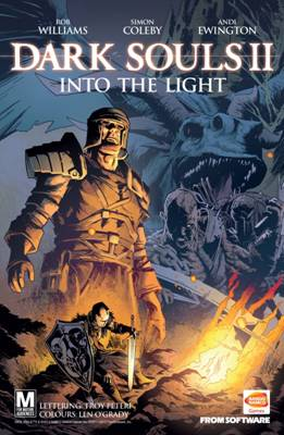 Dark Souls II comic released today