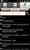 Screenshot of Playa Control for Winamp(R)
