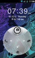 Screenshot of Go Locker White FourKey Theme