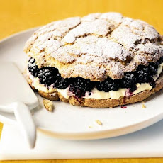 Blackberry & Clotted Cream Shortcake