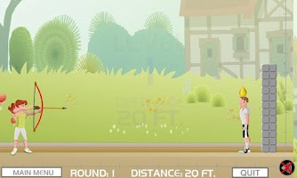 Screenshot of Fruit Archery - Apple Shooting
