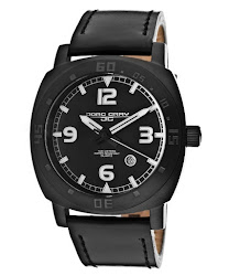 Jorg Gray Men's Black Dial Black Genuine Leather JORGGRAY-JG1020-11-DH Watch