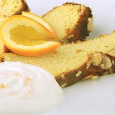 Orange and Almond Cake with Orange Cream