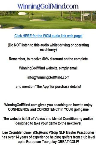 Pre-Round Golf Confidence