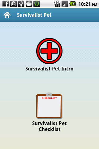 Survivalist Pet