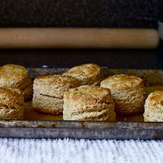 Maple Syrup and Oat Scones