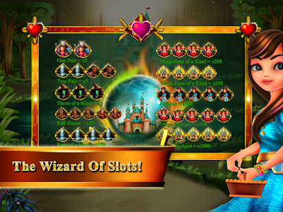 Wizard Of Wonderland Slots - screenshot