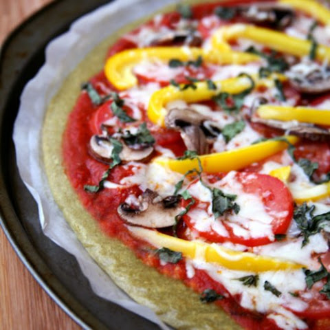 Gluten-Free Quinoa Pizza Crust and Vegan Pizza Recept | Yummly