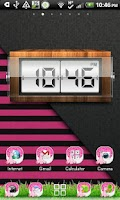 Screenshot of THEME - Hot Pink Giraffe