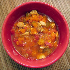Autumn Chicken and Butternut Squash Stew