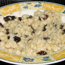 Rum and Raisin Oatmeal