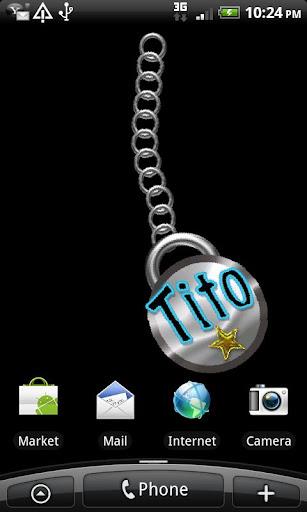Tito Name Tag