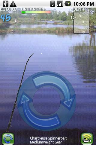 fishin-2-go-lite for android screenshot