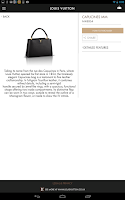 Screenshot of Louis Vuitton Pass
