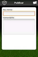 Screenshot of Atlético-MG Mobile