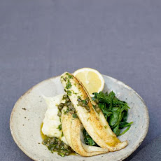 Little Sole Goujons With A Quick Lemon & Caper Sauce