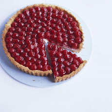 Raspberry Tart With Almond Pastry