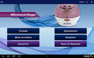 Screenshot of Kasvi - Catálogo e Vendas