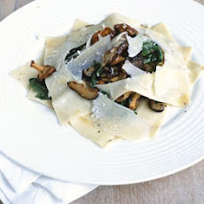 Open Ravioli Of Wild Mushrooms
