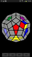 Screenshot of Dodeca (Rubik's Cube Variant)