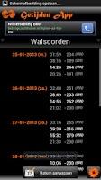 Screenshot of Vismaatjes Getijden App