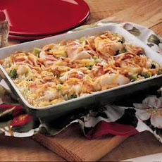 Baked Fish (Cod) and Rice