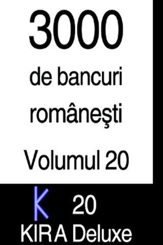 BANCURI 3000 - volumul 20
