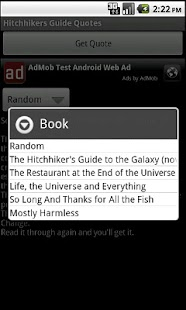 Hitchhikers Guide Quotes - screenshot