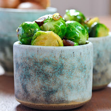 Brussels Sprouts with Bacon and Beer