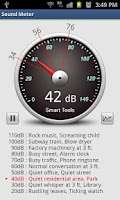 Screenshot of Sound Meter Pro