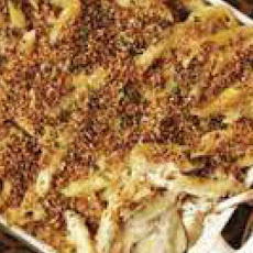 Four-Cheese Baked Pasta