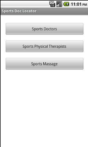 Sports Doc Locator