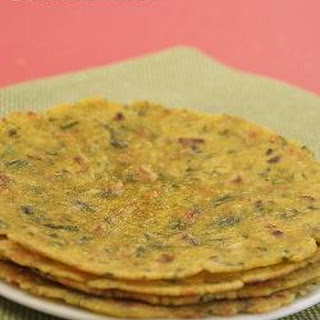 Carrot and Coriander Roti ( Gluten Free Recipe)