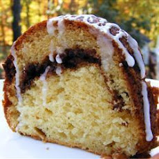 Moist Cinnamon Walnut Cake