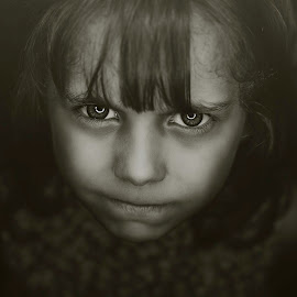 Angry child by Ali Alaraibi - Babies & Children Child Portraits ( child, babies, children, angry, portraits, portrait )