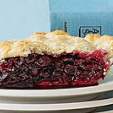 Double-Crust Maine Blueberry Pie